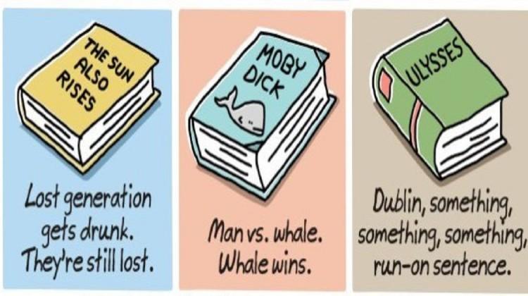 Weltliteratur für Faule