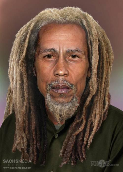 Rock & Roll Heaven Bob Marley Rockstars heute