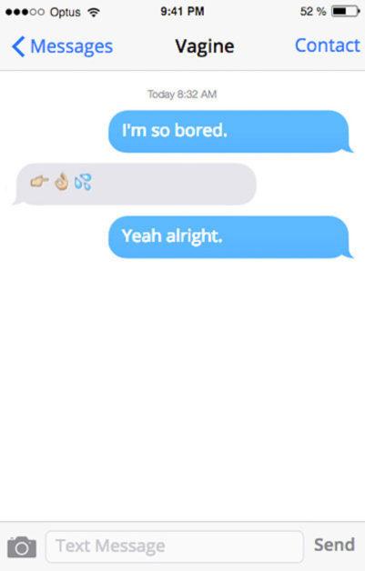 sprechende vaginas sms lustig