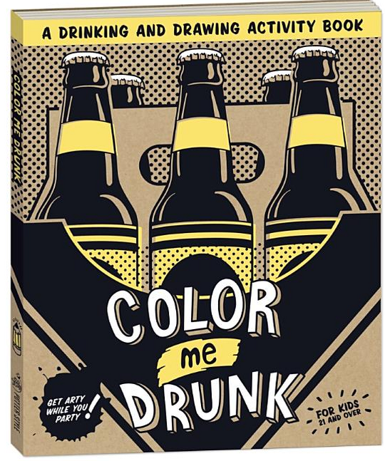 Malbuch für erwachsene bier color me drunk
