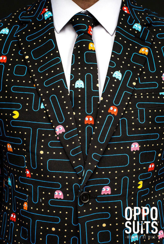 Oppo Suits Pac-Man Anzug