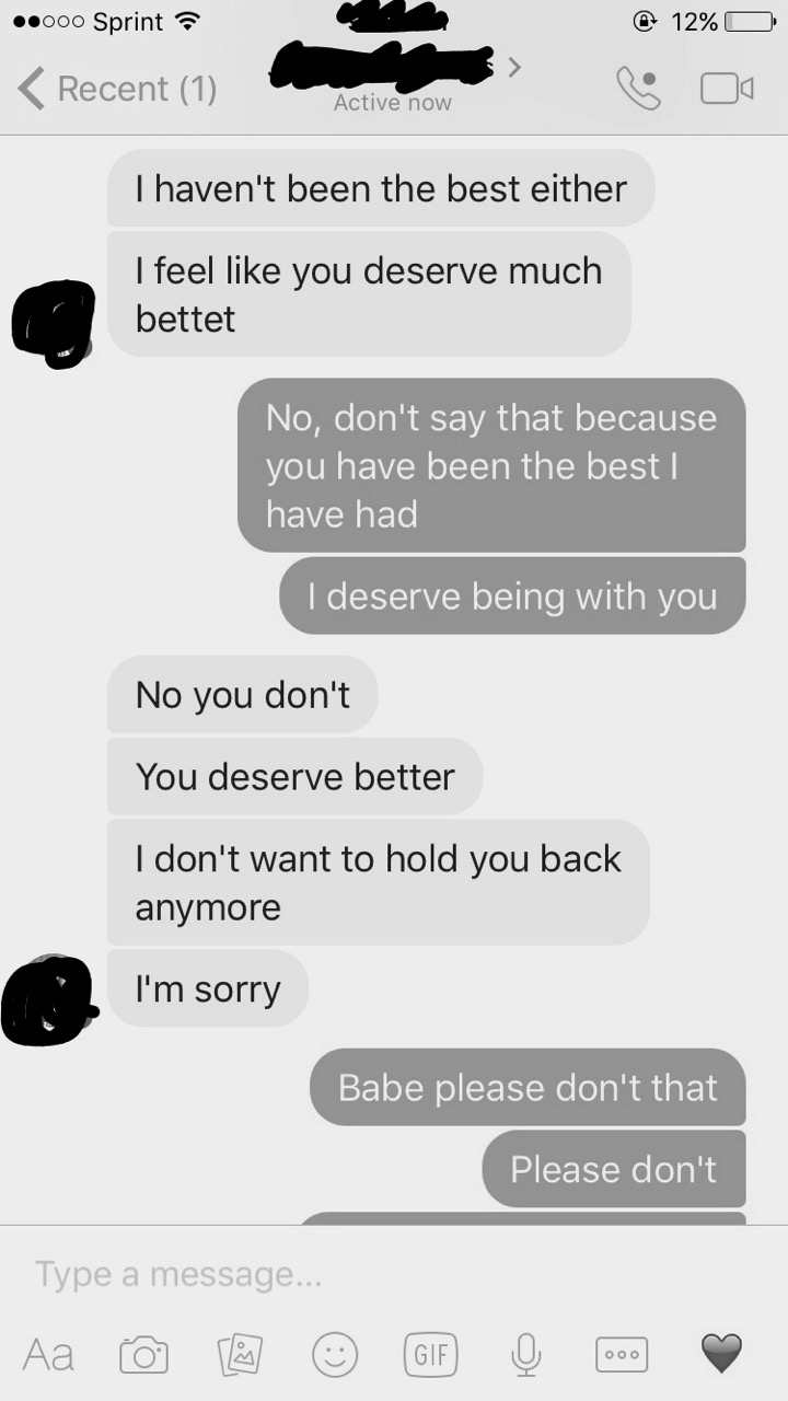 The Last Message Received