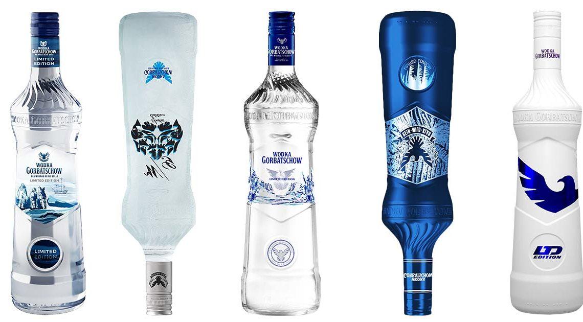 wodka gorbatschow edition slider flaschen