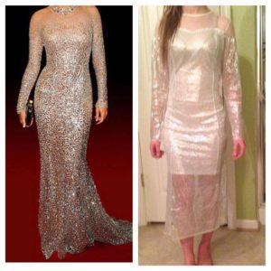 hässliche Brautkleider aus dem Internet