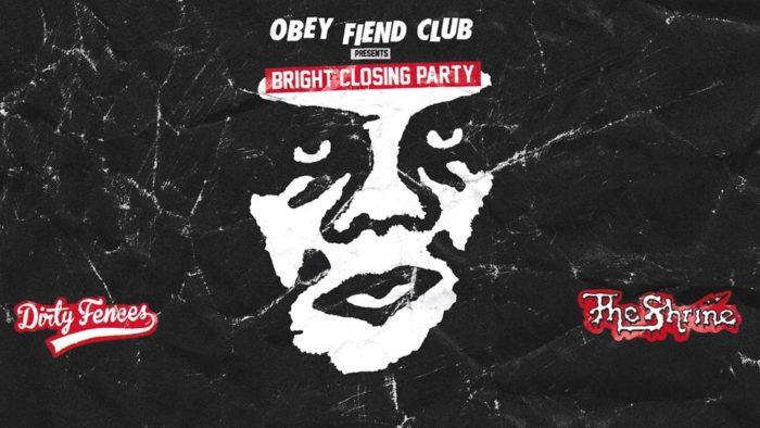 obey fiend club bright closing party mbfwb