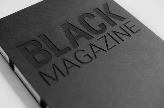 black magazine release party fashion week