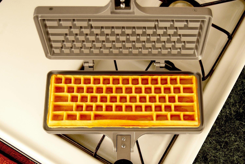 Waffeleisen Tastatur