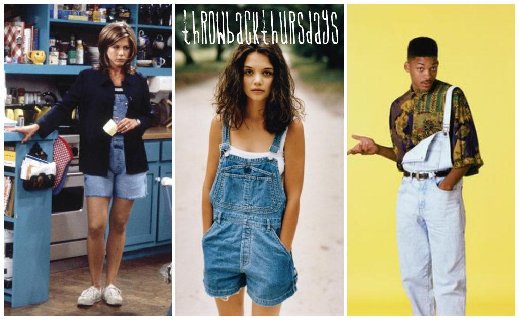 90er Fashion latzhosen overall