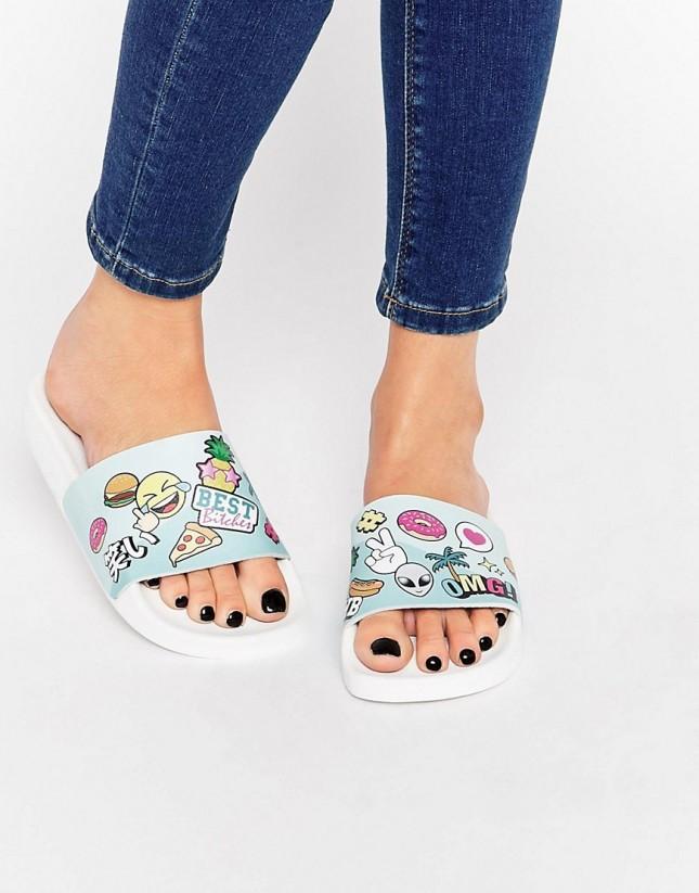 Accessoires für den perfekten Sommer emojis sandalen