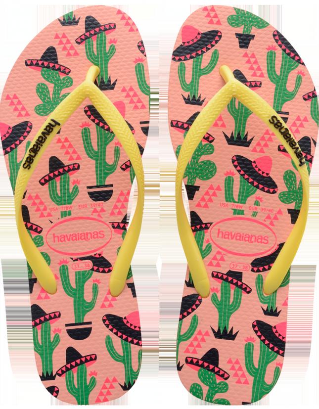 Accessoires für den perfekten Sommer kaktus Havaianas
