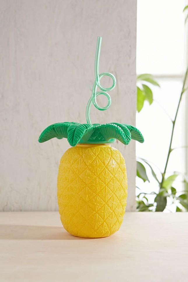 Accessoires für den perfekten Sommer pineapple gelb