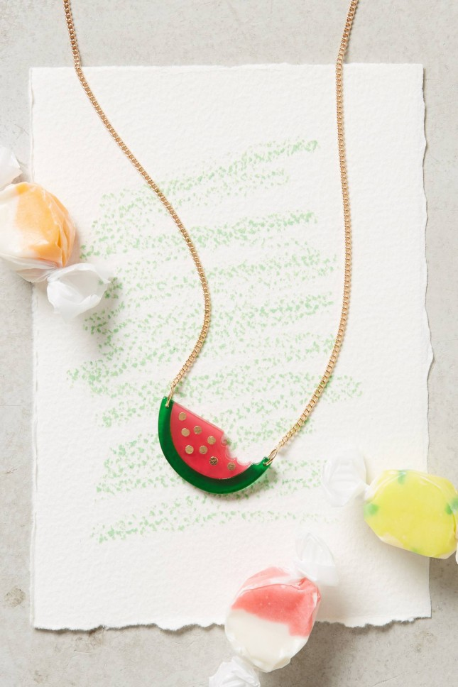 Accessoires für den perfekten Sommer watermelon kette
