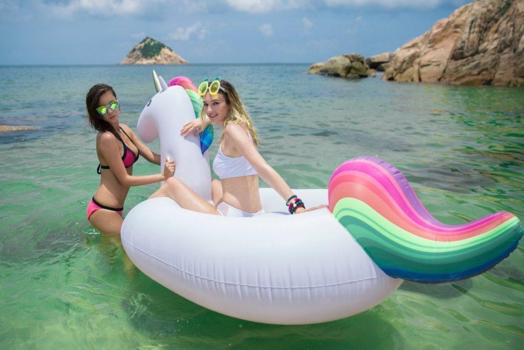 Unicorn-float1 Dinge, die man aufblasen kann einhorn