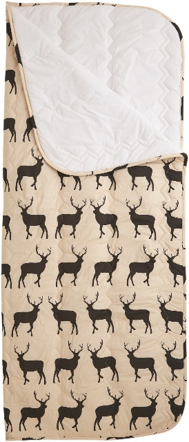 glamping Anorak Kissing Stags Sleeping Bag schlafsack