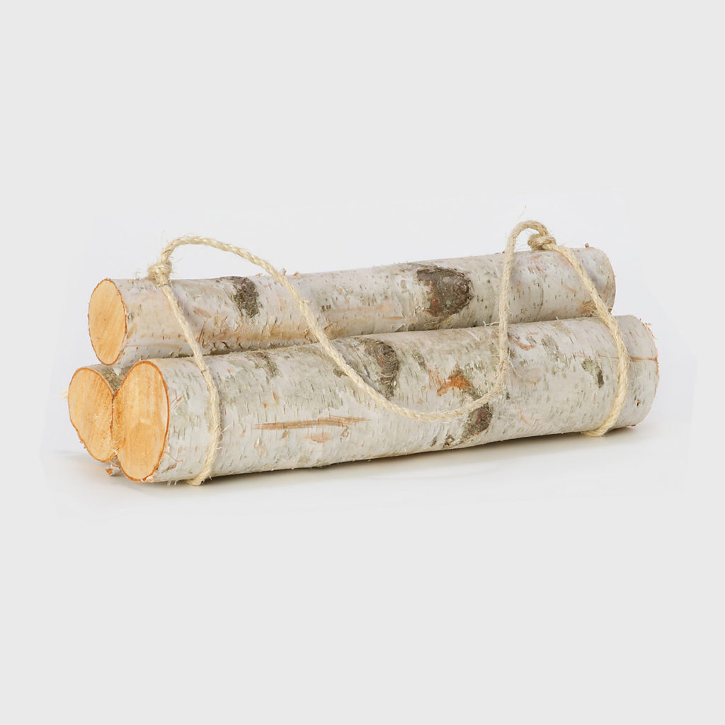 glamping Birch Log Bundle holz