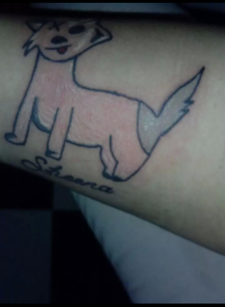 hund-tattoo