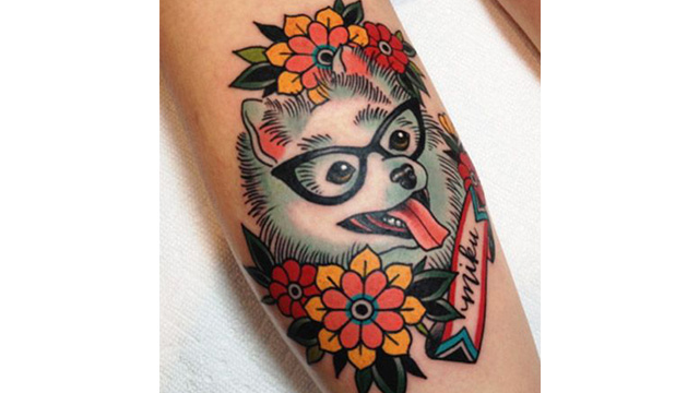 oldschool-dog-tattoo
