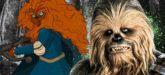 Disneyprinzessinnen als Wookies
