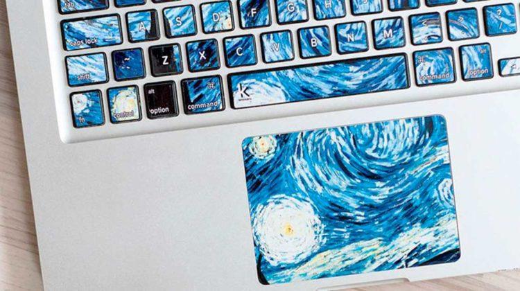 tastaturaufkleber keyshorts kunst