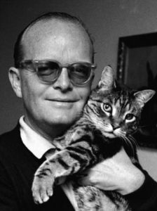 "Truman Capote: ""If I could find a real-life place that made me feel like Tiffany's, then I'd buy some furniture and give the cat a name."" [Breakfast at Tiffany`s]"