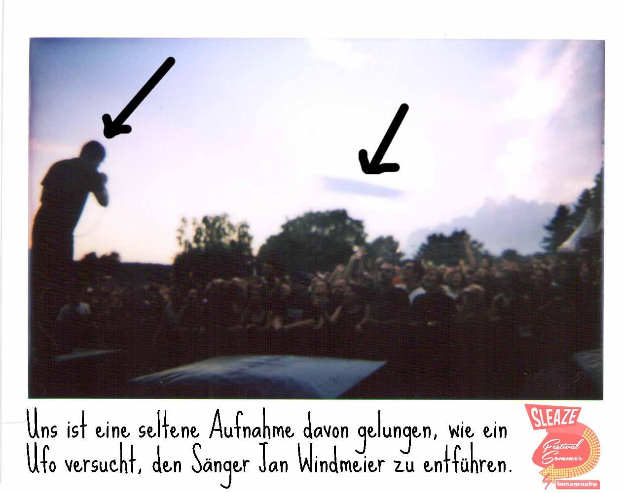 Der SLEAZE Festivalsommer by Lomography Teil 1 mit Ufo