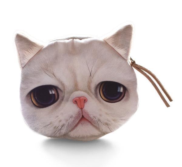 Katzengeldbeutel meowingtons geschenkidee für katzenfreunde
