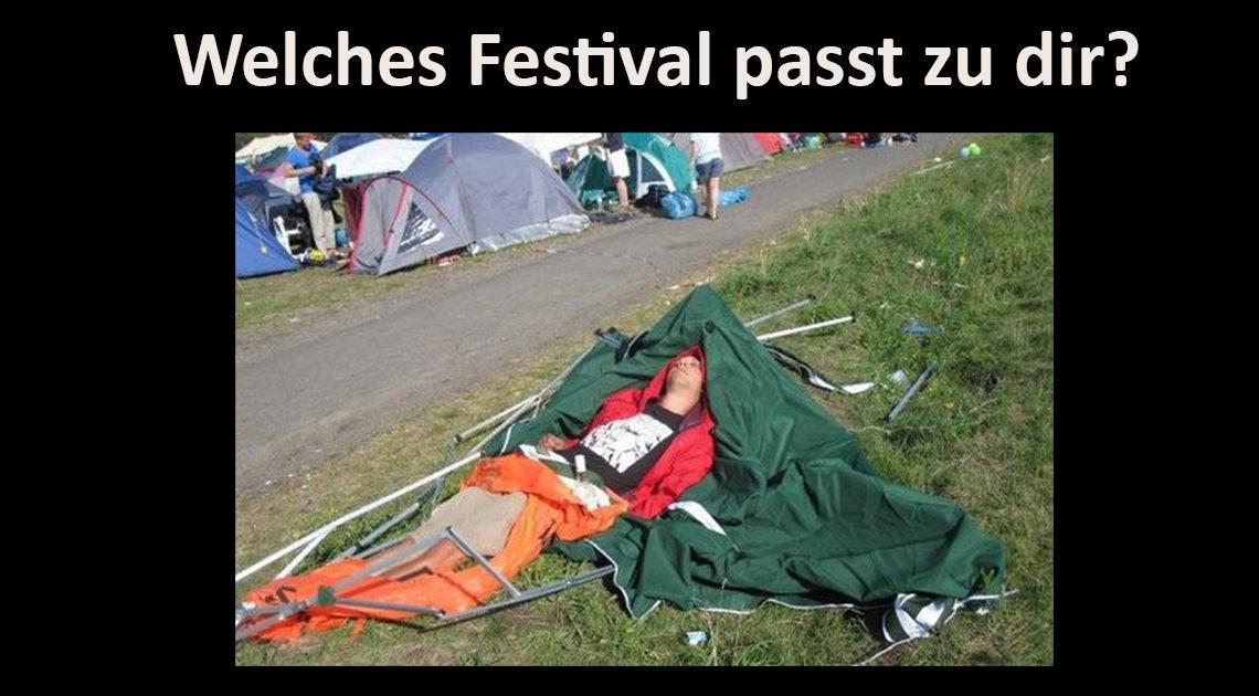 SLEAZE-Quiz: Welches Festival passt zu dir?