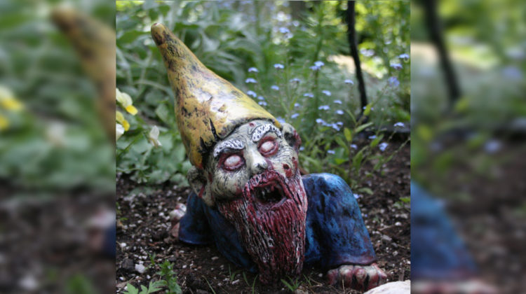 Zombie-Gartenzwerge