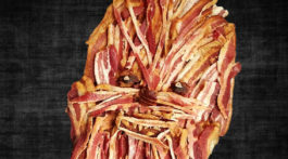 Chewbaccon chewbacca plus bacon star wars