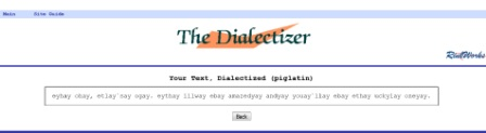 dialectizer