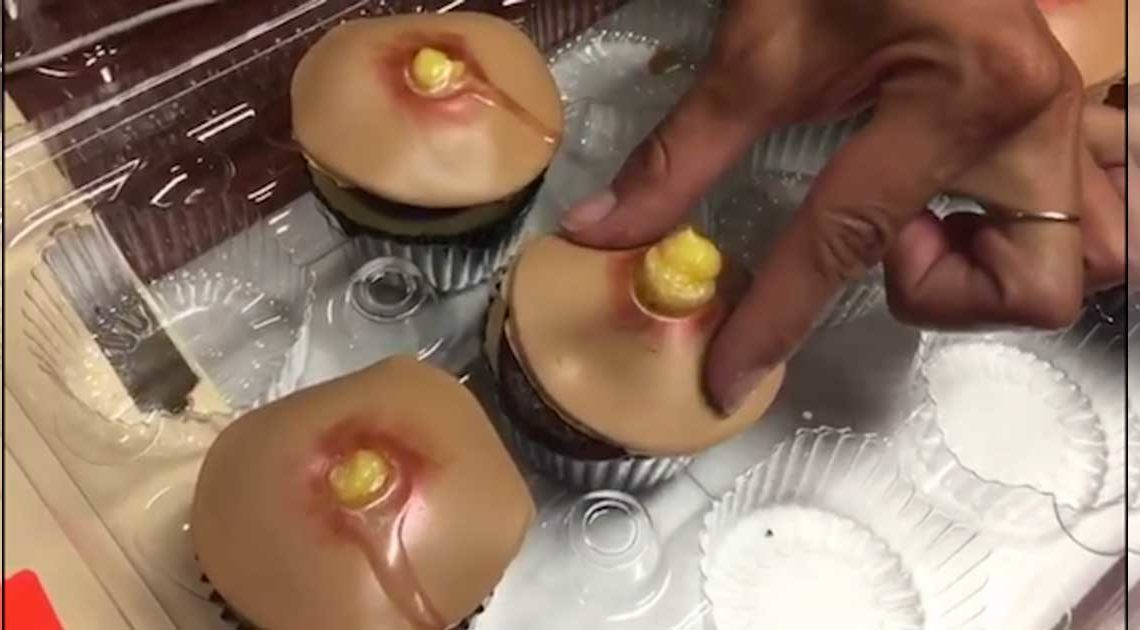 dr pimple popper pickel cupcakes