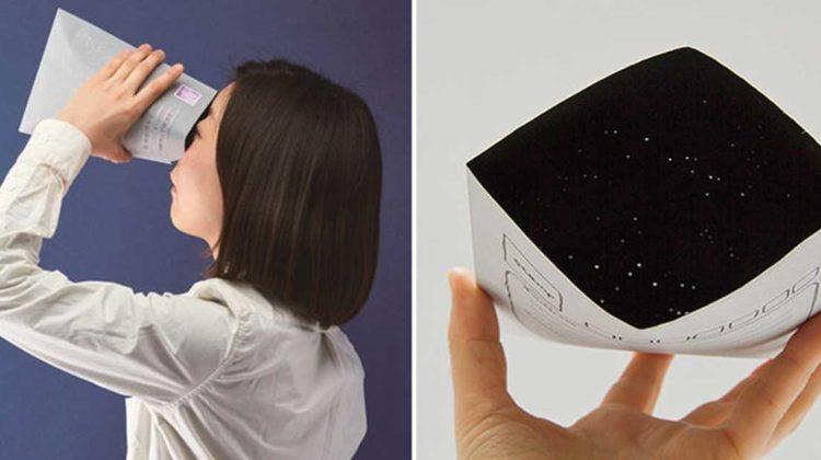 sternenhimmel im briefumschlag stern verschenken geschenkidee