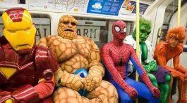 superhelden u-bahn
