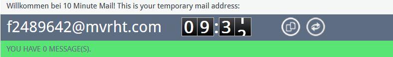 e-mail spam verhindern