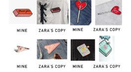 Zara klaut Designs