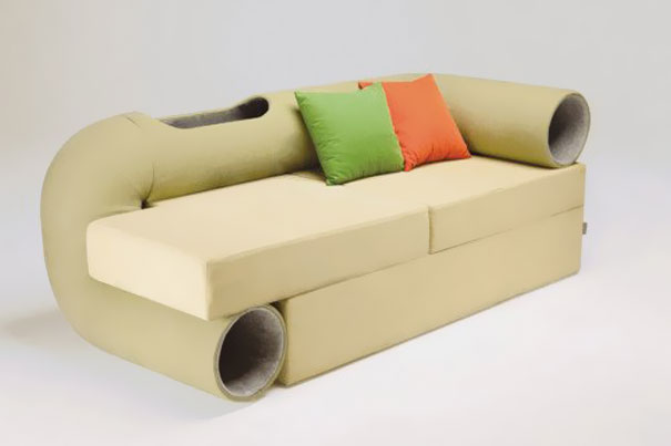 furniture-design-for-pet-lovers-katzenmöbel sofa