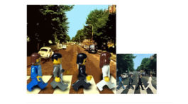 beatles abbey road lego