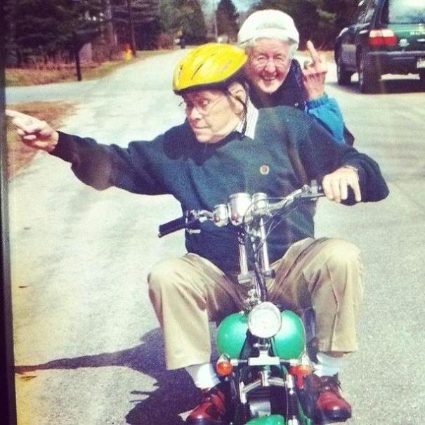 Humor älterer Paare