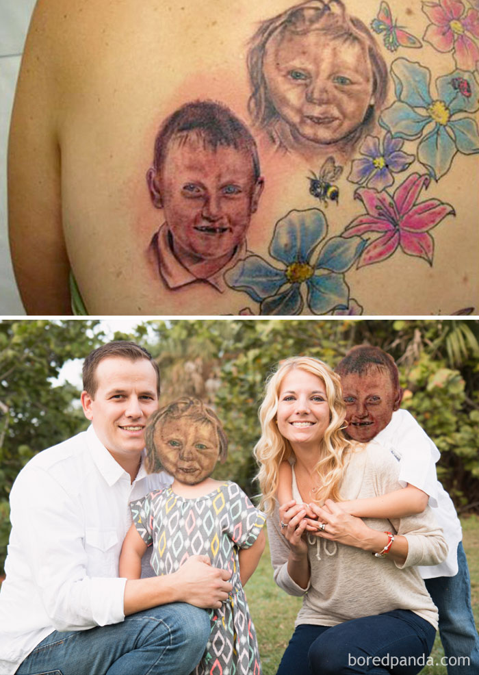 portrait tattoo fails