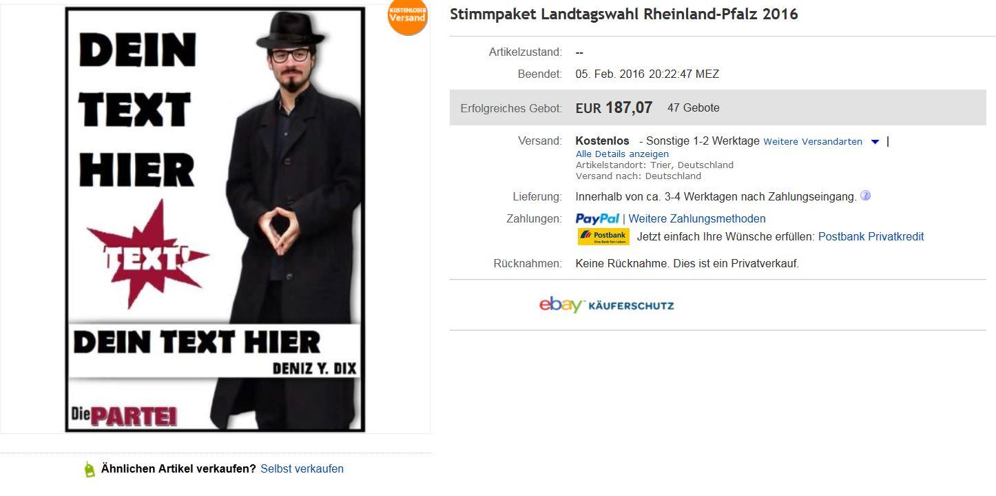 lustige ebay-auktionen