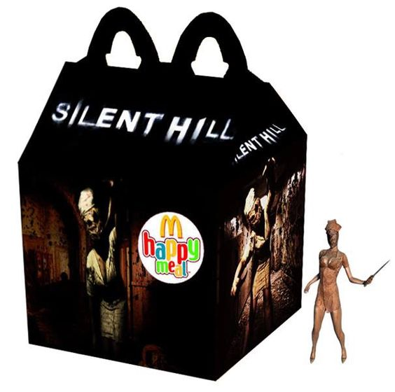 silent hill happy meal