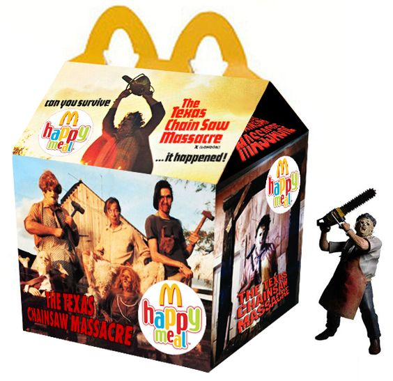 the texas chainsaw massacre happy meal