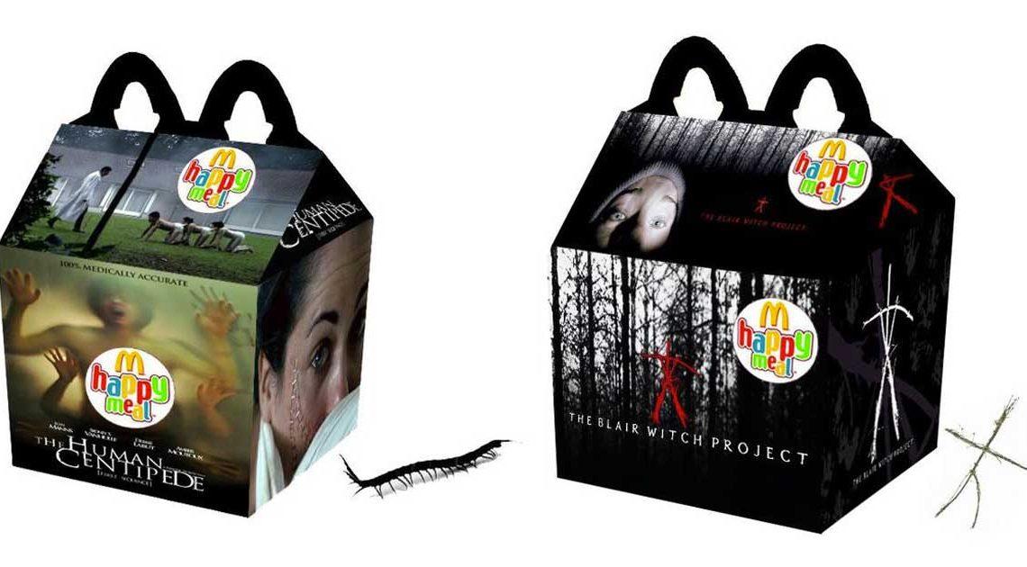 horror happy meals Newt Cloninger-Clements