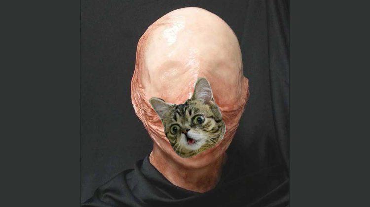 gruselige Vagina-Maske melissa coulter zensiert