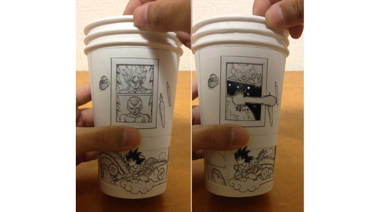 Dragon Ball Z Kaffeebecher