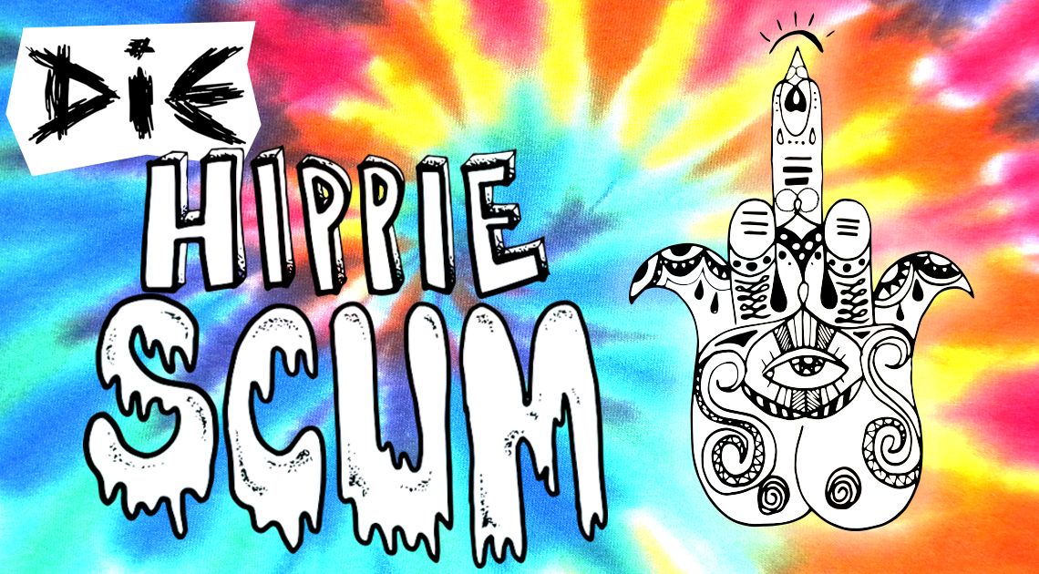 hippie kolumne gherkin jujurocks sleaze scum