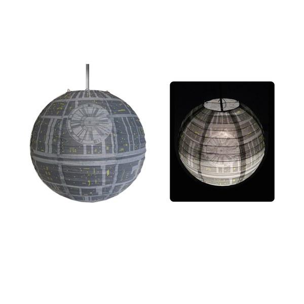 Der Star Wars Todesstern Lampenschirm