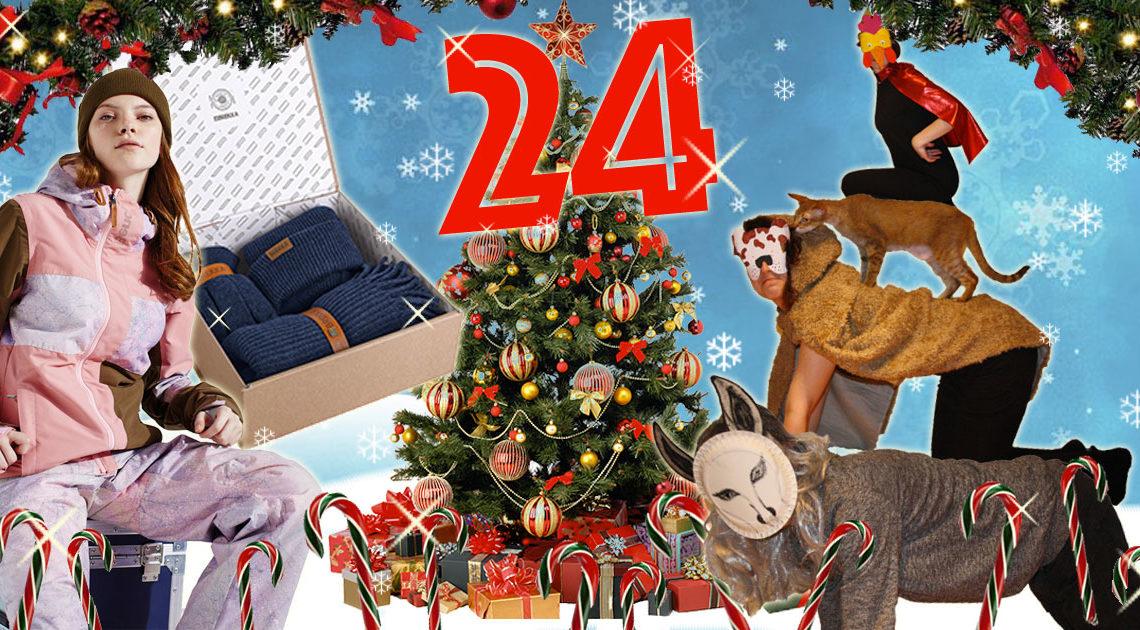 SLEAZE Adventskalendertag 24 Teil 1 Snowboardoutfit von Bench