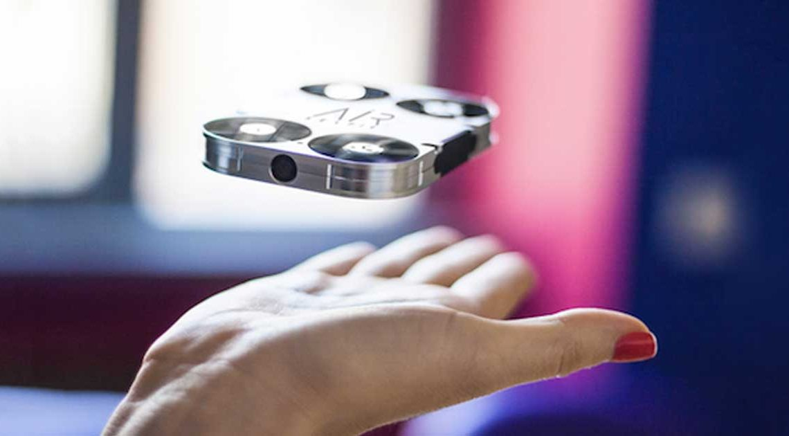 airselfie fliegende selfiekamera kickstarter kampagne