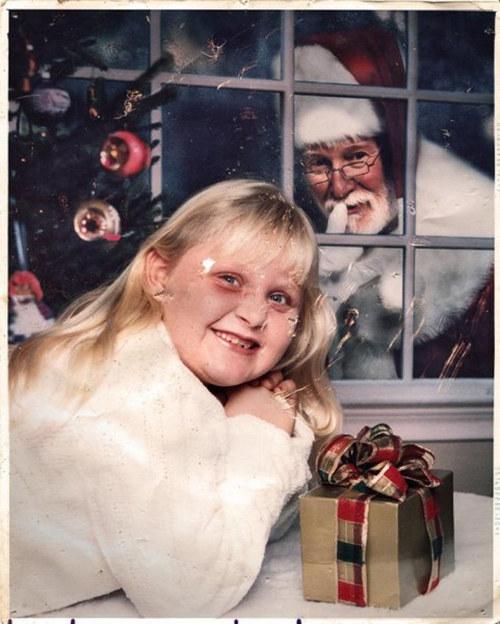 gruselige Weihnachtsmänner
